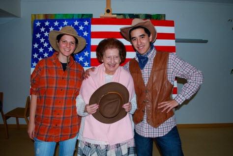 Des rencontres à l'américaine en maisons de retraite… - Source de l'image : http://www.lintendancesuivra.ch